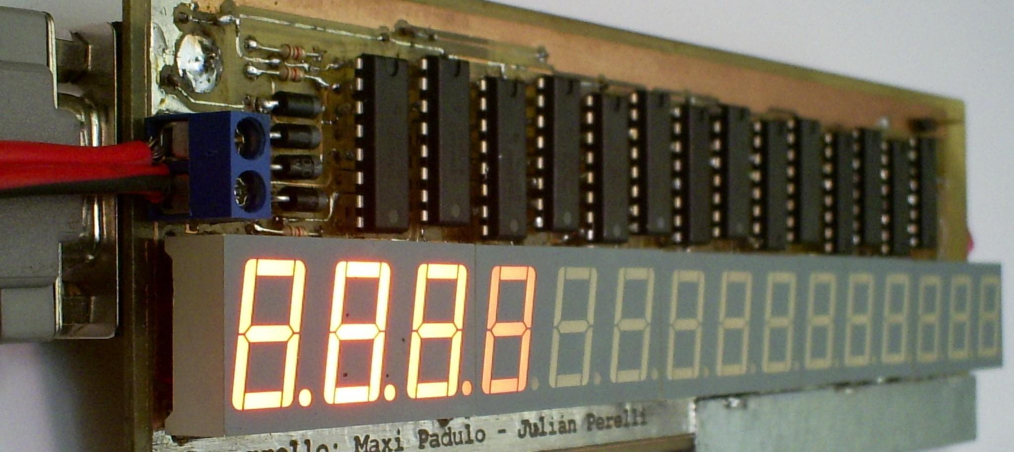 15 Digit 7 Segment Display The 4digit 7segment Led Driver Circuit We Will Build Using A
